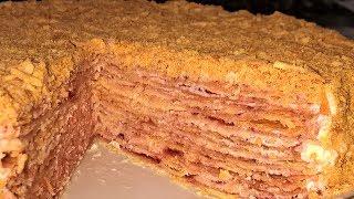 Торт Степка-растрепка. Степка растрепка торт рецепт.