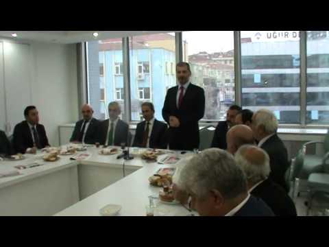 Sami İlhan,  Ak Parti İlçe başkanlığına veda ediyor