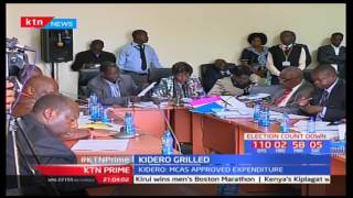 Governor Evans Kidero appeared before senate to explain how the County spent some of its money
