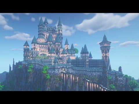 Celestial Castle (Средневековый замок) для Майнкрафт