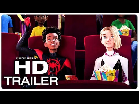 SPIDER-MAN: INTO THE SPIDER-VERSE Miles And Gwen Date Night Trailer (NEW 2018) Superhero Movie HD