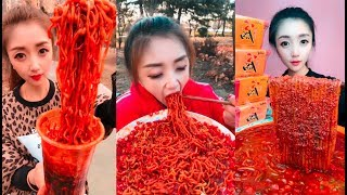 EXTREME SPICY NOODLE CHALLENGE   SPICY FOOD COMPILATION [01]