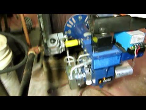 carlin E Z 1 conversion gas burner testo 320 dials her in