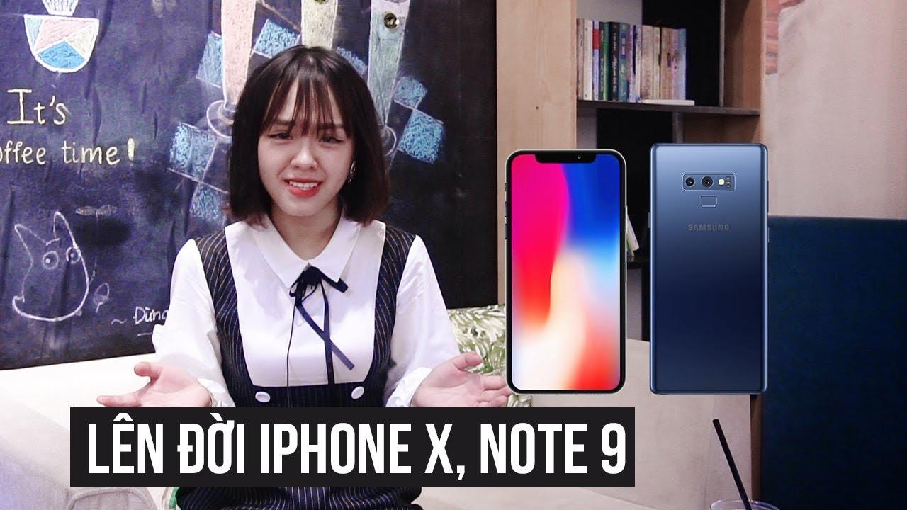 MẸO CHO NGƯỜI NGHÈO, lên đời iPhone X, Note 9 không cần bù tiền