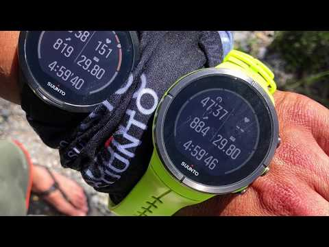 Suunto 9 vs Suunto Spartan Ultra accuracy compared ( 1080 HD )