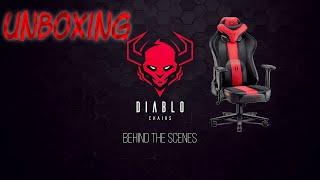 Unboxing Diablo Chairs X-Player Kingsize