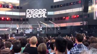 Dizzee Rascal - We Don't Play Around Live @ Emirates Stadium (Muse Support Act) 26.05.13