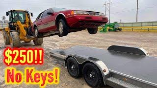 $250 Copart 91 Mercury Cougar NO KEYS WIN!! Will it run and Drive??