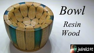 Bowl of Resin and Wood/Miska z Żywicy i Drewna