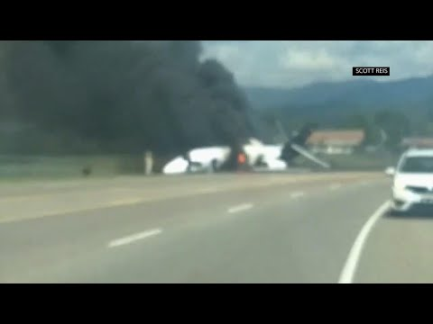 Dale Earnhardt Jr. and wife survive plane fire in Tennessee