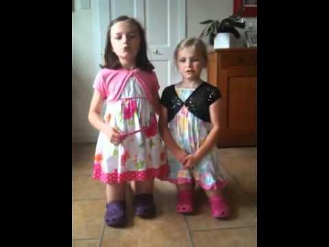 Dancing little girls