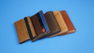 Top 5 Best Mens Leather Card Wallets