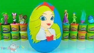 Ever After High Überraschungsei Spielknete Apple White Play Doh Winx Spielzeug Mascha und der Bär