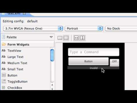 Android Application Development Tutorial - 24 - XML Padding and Setting Toggle to On