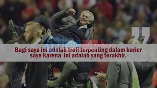 Komentar Menyentuh Mourinho Saat Mengoleksi Tiga Trofi di Awal Musim