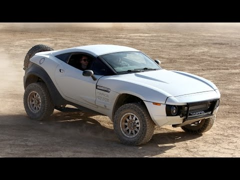 Car Enthusiast Spends $100,000 Building Custom Desert Rally Vehicle