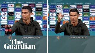Ronaldo's Coca-Cola snub costs company billions: 'Drink water'