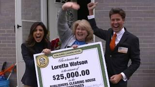 مشاهدة وتحميل فيديو Publishers Clearing House Winners: Natalie