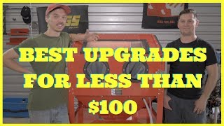 Best Upgrades For Harbor Freight Sand Blast Cabinet | Upgraded & Modified On A Budget