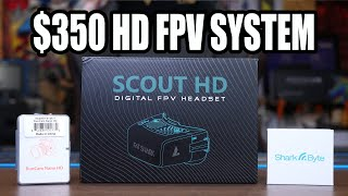 FAT SHARK SCOUT HD FPV GOGGLES REVIEW - HD FPV SYSTEM FOR $350 фото