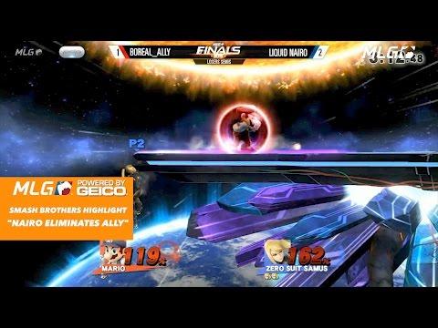 Smash 4 Nairo Mod MLG Intro - смотреть онлайн на Hah Life