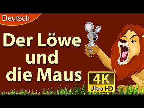 Der Löwe und die Maus | Gute Nacht Geschichte | Märchen | Geschichte | Deutsche Märchen