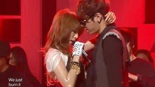 HyunA - Change (feat. Yong Jun Hyeong), 현아 - 체인지 (feat. 용준형), Music core 20100130