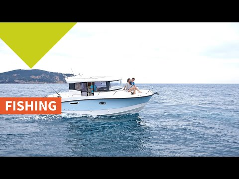 Quicksilver 905 Pilothouse video