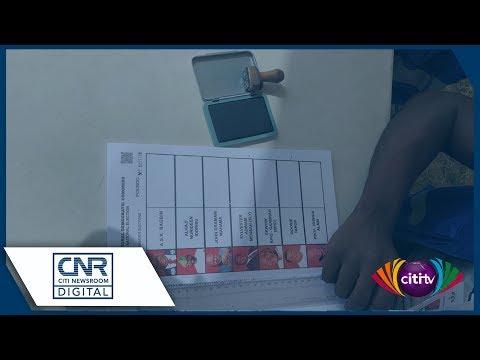 NDC delegates vote in presidential primary