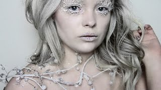 Ice Queen Makeup Tutorial ❄ Narnias White Witch