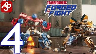 TRANSFORMERS: Forged to Fight - Gameplay Walkthrough Part 4 - ACT 1: Chapter 2 Complete