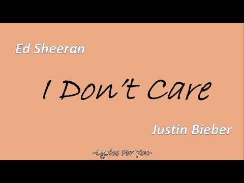 [Lyrics + Clean] I Don't Care - Ed Sheeran & Justin Bieber