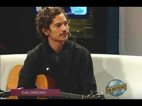 Caloncho video Entrevista y Acústico - Noviembre 2015
