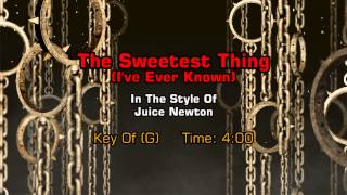 Juice Newton - The Sweetest Thing (I've Ever Known) (Backing Track)