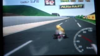 """Mario kart 64 - LR SC 3lap - 1' 33"""" 78"""