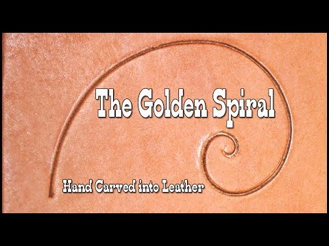 "The Golden Ratio - How To Hand Carve ""The Golden Spiral"" Scroll Into Leather Mp3"