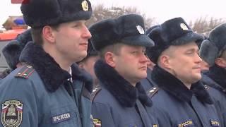25 лет исполнилось с момента образования отряда № 1 федеральной противопожарной службы по Новгородской области