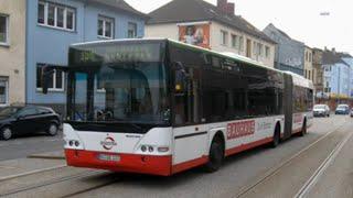 preview picture of video '[Sound] Bus Neoplan N 4421 (Wagennr. 0263) der Bochum-Gelsenkirchener Straßenbahnen AG'