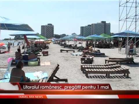 Litoralul romanesc, pregatit pentru 1 mai