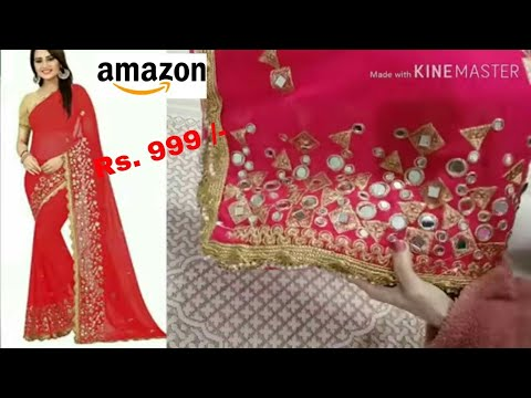 Mirror Work Saree At Best Price In India,Attractive Simple Butterfly Corner Border Designs For Projects