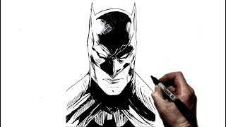 How To Draw Batman | Step By Step | DC