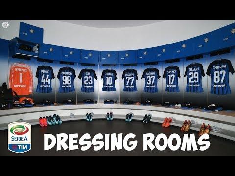 ITALY SERIA A DRESSING ROOMS / SPOGLIATOI 2018