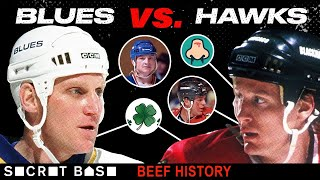 The Blues-Hawks beef was super violent even before the St. Patrick's Day Massacre thumbnail