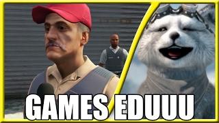 #REACT - 10 Memes Recriados no GTA V #3 (Games EduUu)