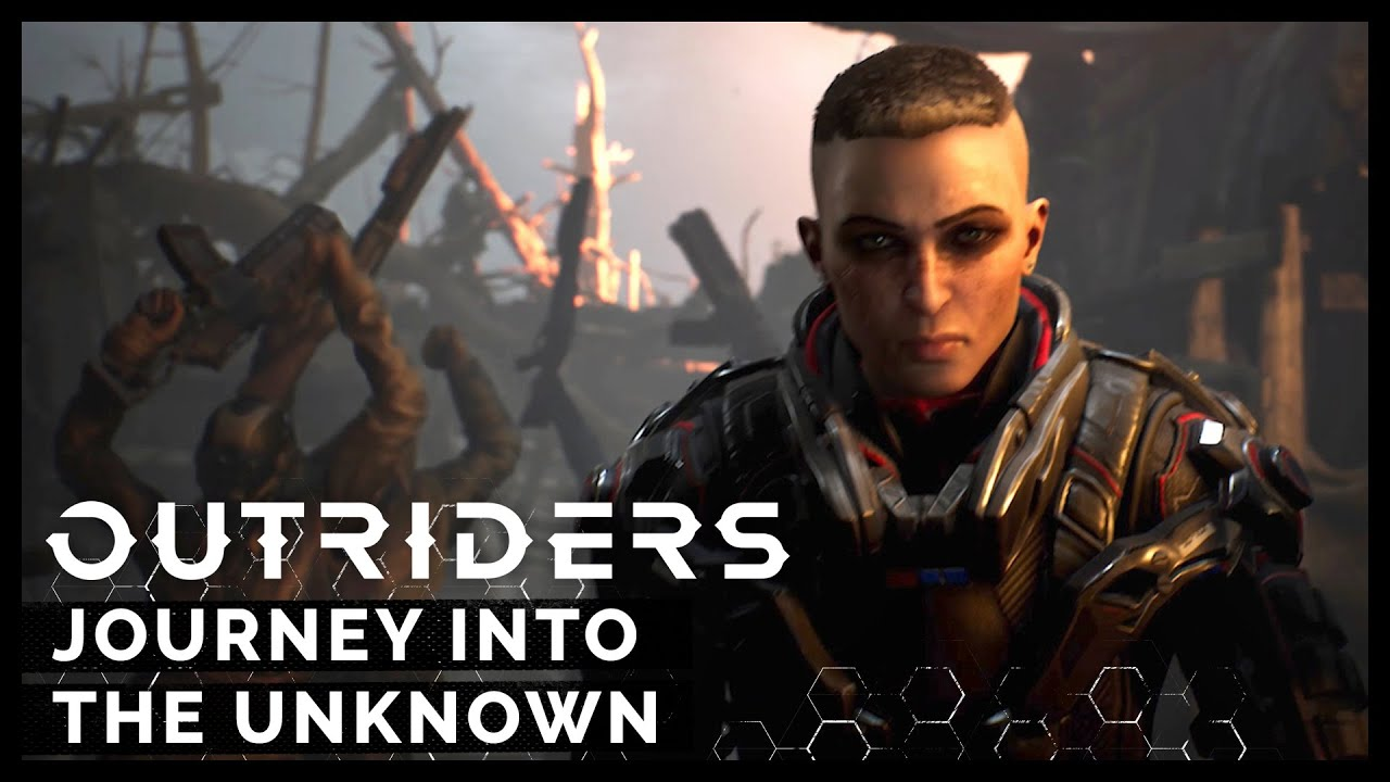 Video OUTRIDERS [PS4]