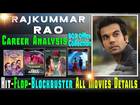 Rajkumar Rao Box Office Collection Analysis Hit and Flop Blockbuster All Movies List.