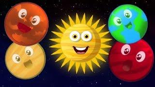 Hành tinh Bài hát | hệ mặt trời Bài hát | Bài hát giáo dục | Kids Song | Planets Song For Kids