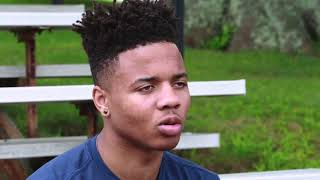 Markelle Fultz visits Sixers Camps 2017