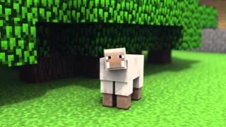 MinecraftShorts: WOOLY THE TALKING SHEEP (Вули - говорящая овца) [Rus by Rissy]