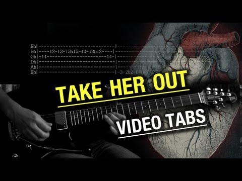 Alice in Chains - Take Her Out | Guitar, Vocal Cover w/solo |Tabs  | Lyrics